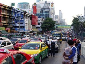 Embouteillage en Thaïlande